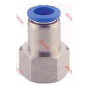 PNEUMATIC FITTING STRAIGHT FEMALE 6-3/8 BSPT