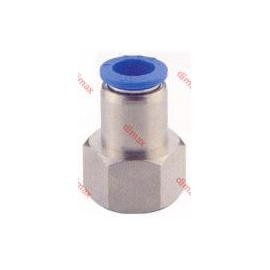 PNEUMATIC FITTING STRAIGHT FEMALE 8-3/8 BSPT