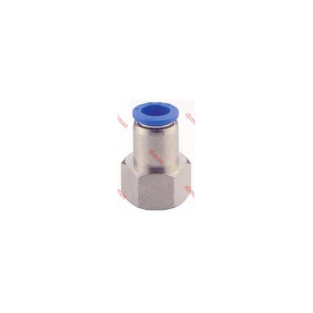 PNEUMATIC FITTING STRAIGHT FEMALE 10-1/8 BSPT