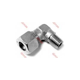 MALE STUD ELBOW CONNECTOR 8 L - 1/4
