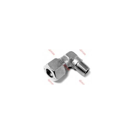 MALE STUD ELBOW CONNECTOR 15 L - 18 x 1,5
