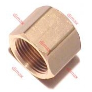 BRASS NUTS FOR SCANIA - VOLVO 11/16 (1/2 CON)