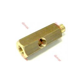 BRASS TEES FOR MEASURING EQUIPMENT 10 x 1