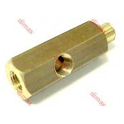 BRASS TEES FOR MEASURING EQUIPMENT 16 x 1,5
