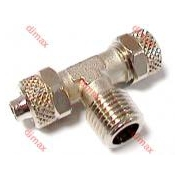 CENTRAL T TAPER MALE BSPT 6 x 8 - 1/8