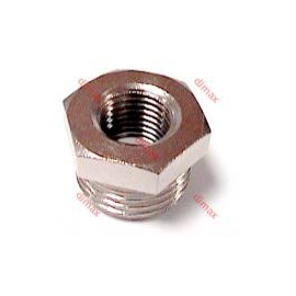 REDUCER FEMALE CYLINDRICAL-MALE TAPER BSPT 3/8- 1/4