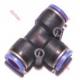 TEES PUSH-IN FITTINGS 4mm