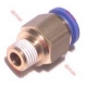 STRAIGHT MALE PUSH-IN FITTINGS BSPT 6-1/4
