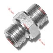 STRAIGHT ADAPTER BSP MALE 1/4 - 1/4