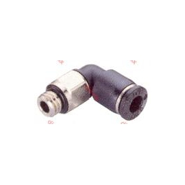 MALE ELBOW METRIC PUSH-IN FITTING 6 - 6mm