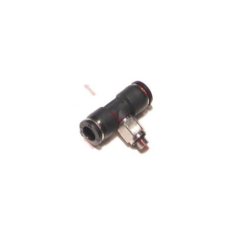 MINI CENTRAL TEE PUSH-IN FITTING 4 - 5mm