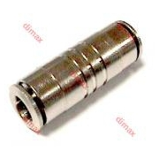 BRASS PUSH-IN FITTING STRAIGHT 4
