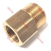 FIXED CONNECTORS MALE-FEMALE 21 x 1,5 - 3/8