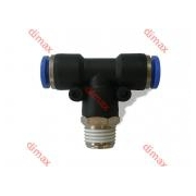 CENTRAL T MALE TAPER BSPT 6 - 1/8