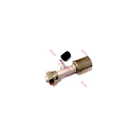 FEMALE REFILLING VALVE SMOOTH SEAT O'RING 7/8 x 14 - 1/2