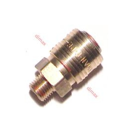 GERMAN MALE QUICK COUPLERS NW7.2 - 3/8