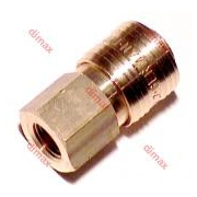 GERMAN FEMALE QUICK COUPLING NW 7.2 - 1/2