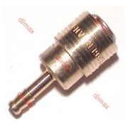 GERMAN QUICK COUPLER WITH TAIL NW 7.2 - Φ 6