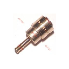 GERMAN QUICK COUPLER WITH TAIL NW 7.2 - Φ 13