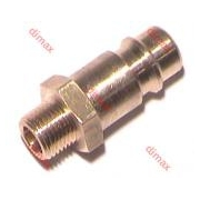 GERMAN QUICK COUPLER WITH TAIL NW 7.2 - 3/8