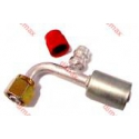FEMALE REFILLING VALVE SMOOTH SEAT ORING 90o