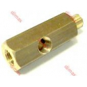 BRASS TEES FOR MEASURING EQUIPMENT