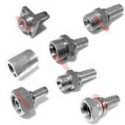 HARDENED FITTINGS FOR HYDRAULIC HAMMERS